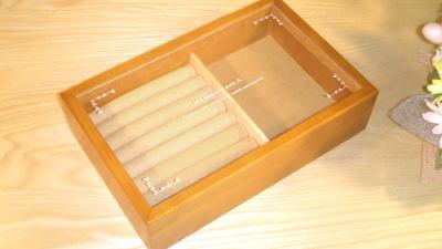 指輪を、綺麗にケースに収納!指輪専用のジュエリーボックス